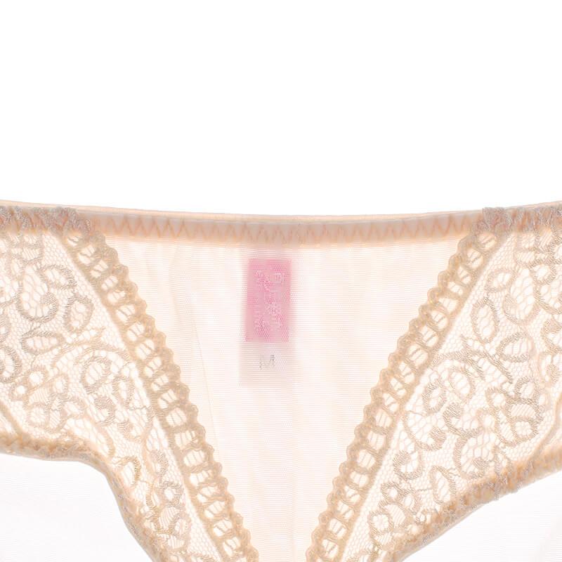 蕾絲刺繡中腰提臀舒適女士收腹褲