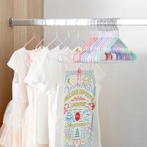 儿童衣架子小衣架婴幼儿专用小孩防滑家用晾挂衣服宝宝婴儿晒小号