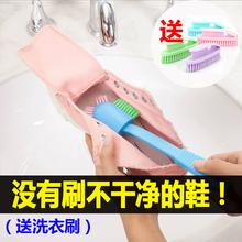 多头鞋刷长柄家用刷子洗衣服的刷子洗鞋专用刷清洁多功能软毛刷子