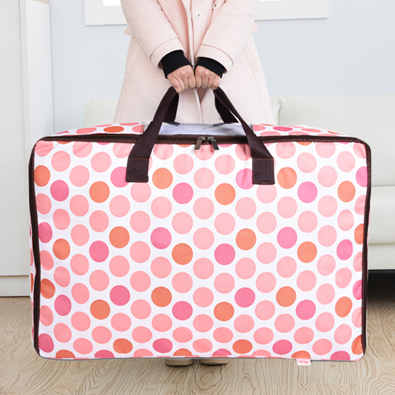 牛津布防潮医院收纳袋子 被子收纳袋行李袋 装衣服收纳箱盒搬家袋