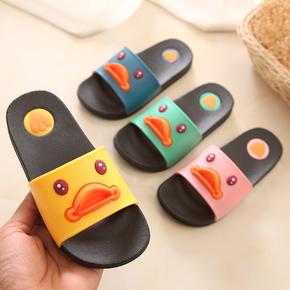 夏季男女童亲子卡通防滑居家拖鞋