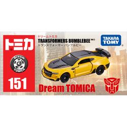 日本TOMY多美卡梦之合金小汽车模型男玩具车变形金刚大黄蜂967514