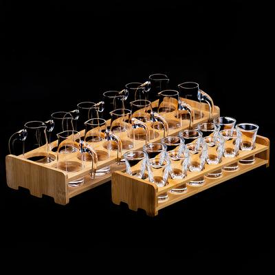 中式白酒杯shot子弹杯烈酒杯二两杯小酒杯套装分酒壶酒杯家用聚会