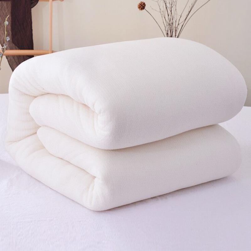 新疆加厚床垫被手工纯棉花被子质量好不好