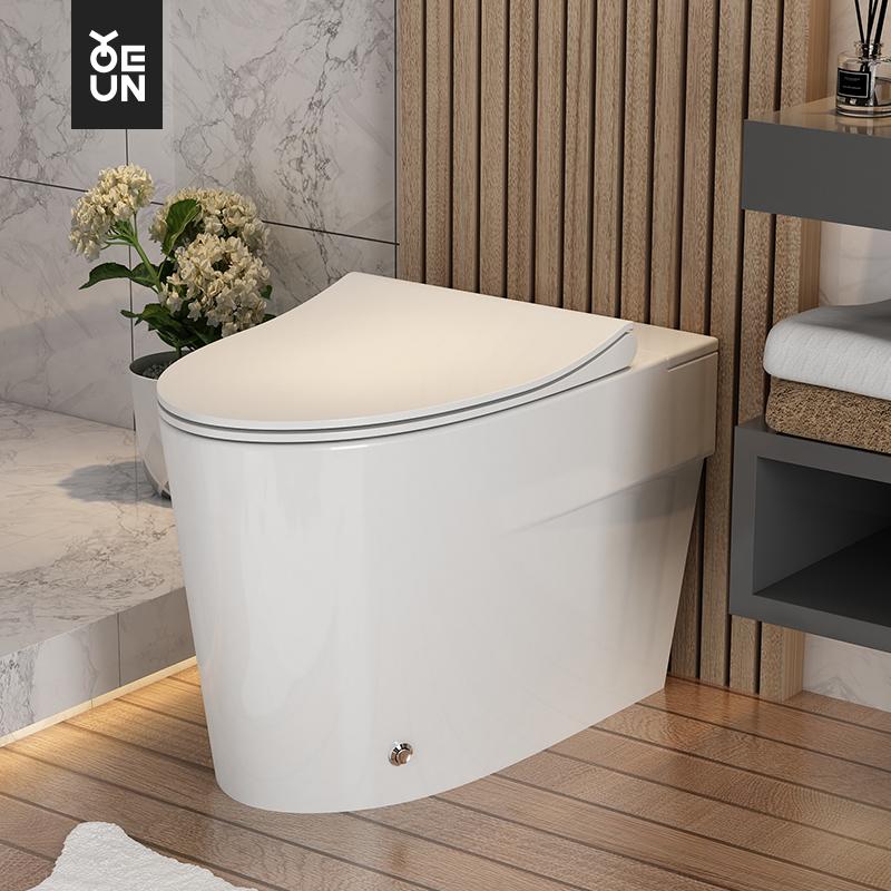 佑恩卫浴无水箱马桶小户型非智能家用卫生间大冲力抽水节水坐便器