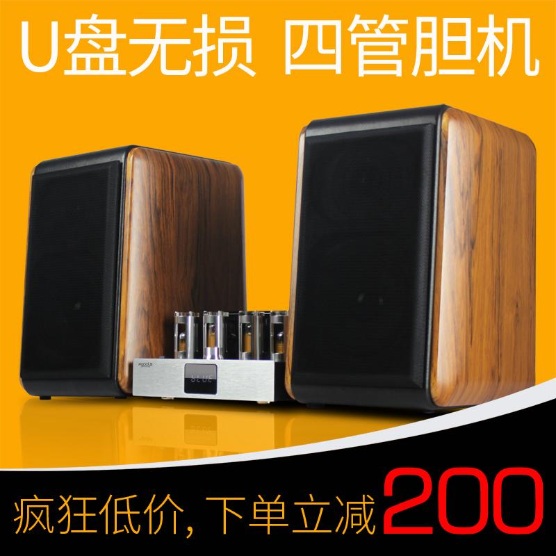 Fgoola YD-301 лихорадка сочетание звук hifi установите электронный трубка желчный пузырь машинально усилитель машинально динамик телевидение