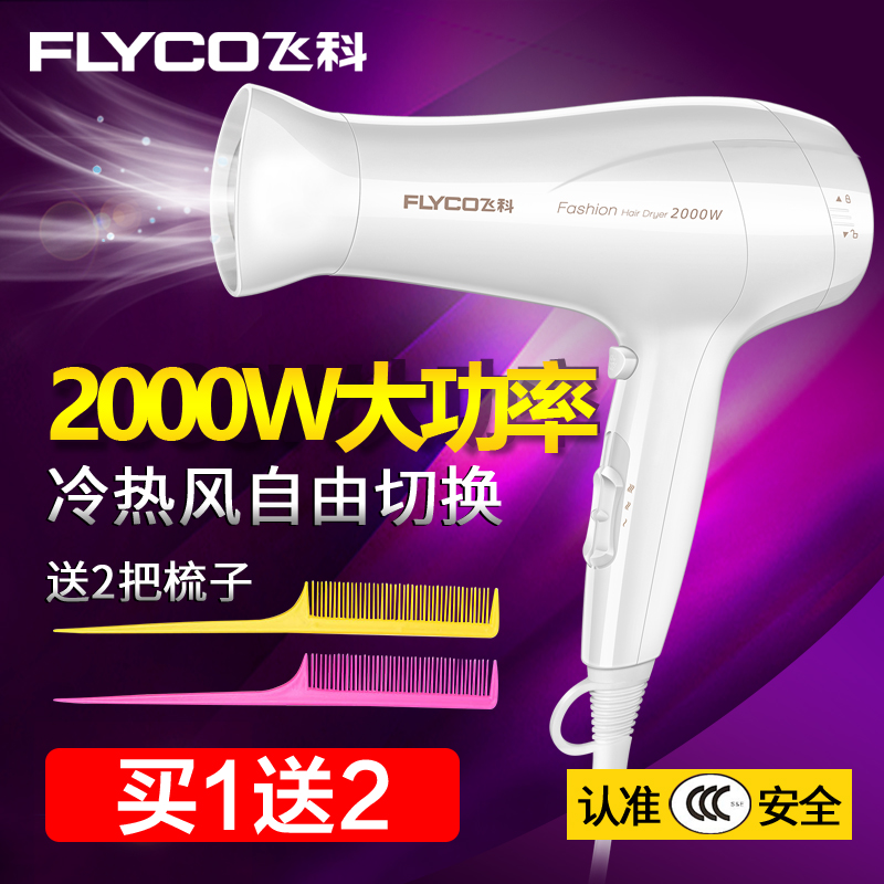 飛科FH6232電吹風機家用2000w大功率負離子冷熱風恆溫護髮吹風筒