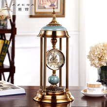American desk clock, European seat clock pendulum, living room porch, home furnishing desktop, desktop, quiet bedroom decorative clocks and watches