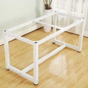 不銹鋼加厚落地定制簡約支撐支架桌架配件腿烤漆桌子吧臺腿餐臺腳
