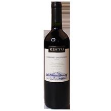进口红酒肯图 智利原瓶原装 KINTU赤霞珠干红葡萄酒750ML
