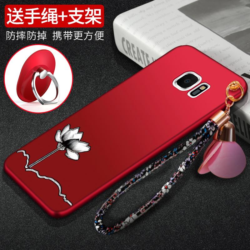 三星S7手机壳S7edge手机壳G9350曲面G9300日韩个性全包保护套男女