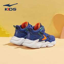 鸿星尔克童鞋儿童运动鞋2021年春秋新款小童厚底老爹鞋男童运动鞋