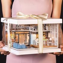 木质复古留声机音乐盒八音盒创意闺蜜生日礼物送女友女生男生礼品