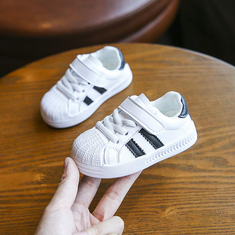 宝宝鞋子小白鞋男婴儿软底透气网鞋