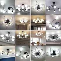 新款灯具2018欧式客厅中式陶瓷吊灯现代大气奢华家用卧室别墅餐厅