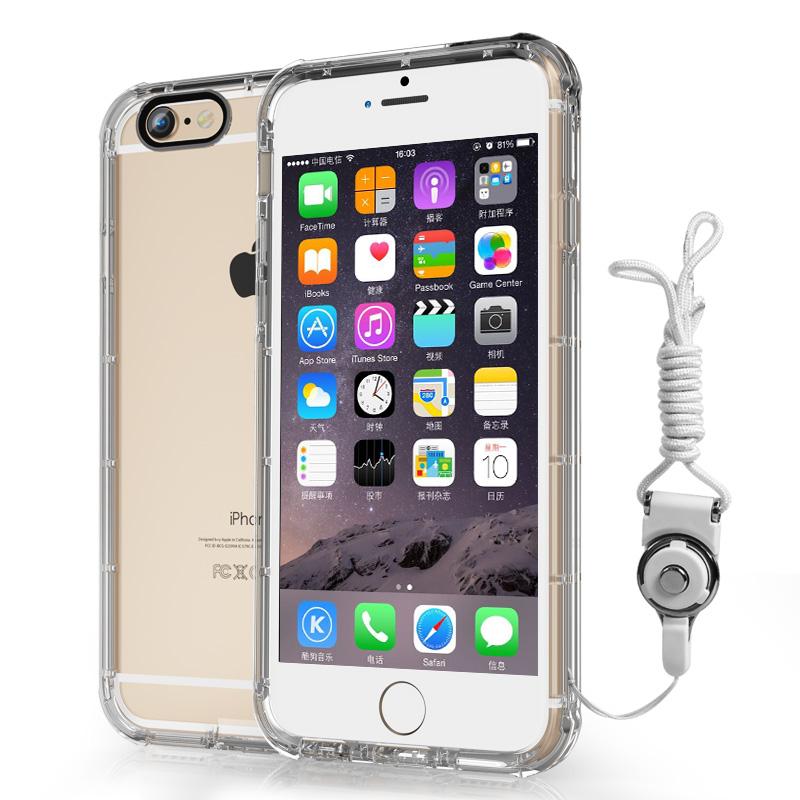 蘋果6splus手機殼防摔iphone6P保護套6S透明矽膠4.7軟殼加厚5.5寸