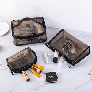 透明化妆包女ins风超火小号便携大容量旅行收纳袋盒随身洗漱品包