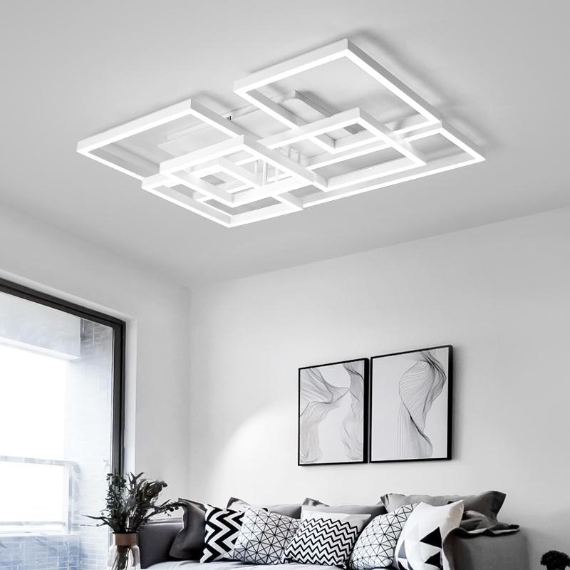 简约后现代北欧创意大客厅灯具LED主卧室温馨浪漫个性灯饰吸顶灯,可领取20元天猫优惠券