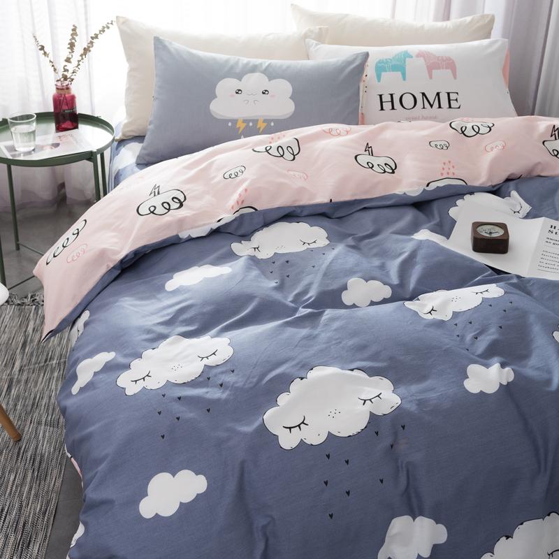 Один одеяло один хлопок 150×200x230 студент одеяло 1.5 метр m кровать 100% хлопок двойной осень и зима