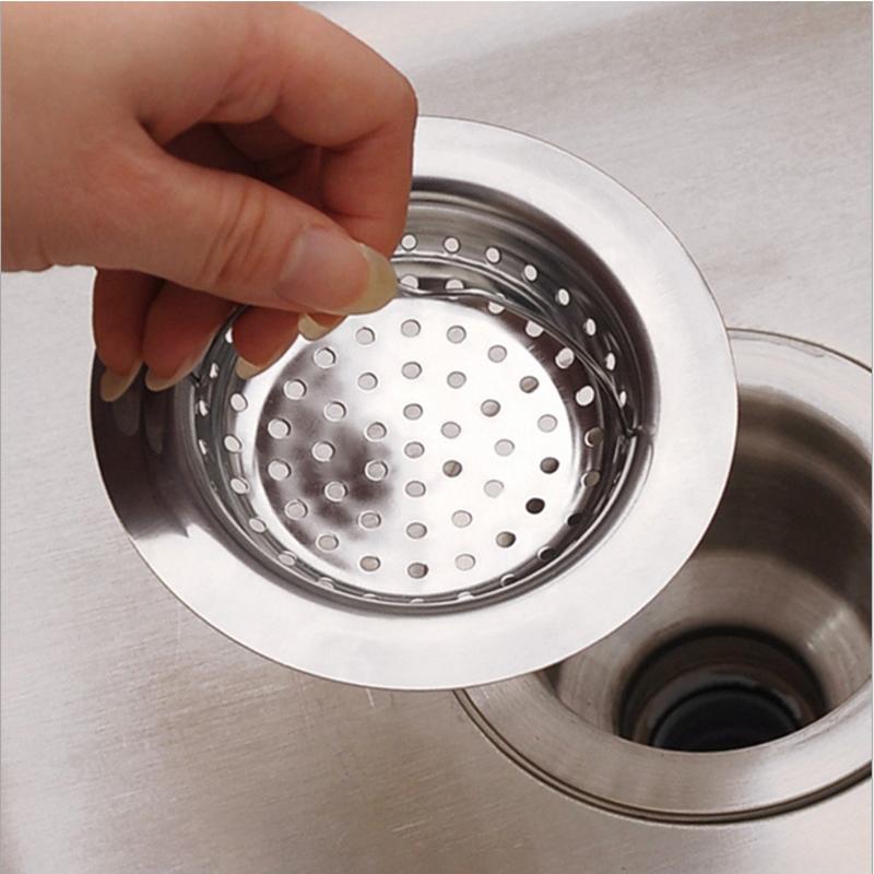 万事顺厨房水槽过滤网网漏下水器漏网不锈钢水槽隔渣网洗菜盆网漏