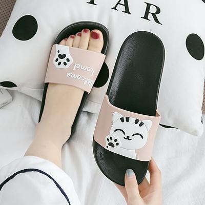 女士外穿时尚ins潮家居可爱凉拖鞋
