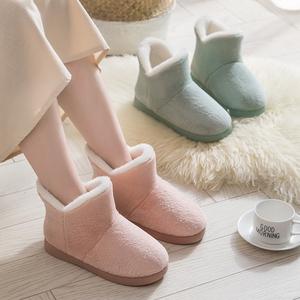 雪地靴女士2020新款秋款冬季加绒百搭短靴棉鞋时尚中筒马丁靴靴子