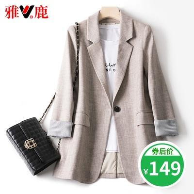 小西装外套夏薄款2020年新款韩版