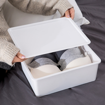 Plastic underwear storage box female underwear bra box with socks put underwear home drawer type finishing Box