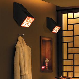 中式壁灯复古中国风仿古酒店楼梯户外古典个性新中式庭院过道墙灯
