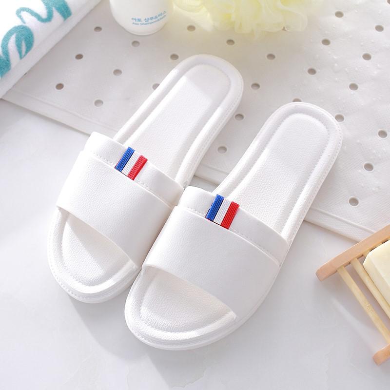脚爱妮浴室拖鞋防滑洗澡男女士居家用夏天室内韩版软底情侣凉拖鞋