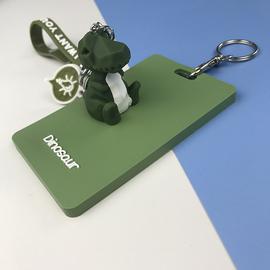 少女硅胶卡包门卡套钥匙扣可爱公交卡保护套学生饭卡校园门禁房卡图片
