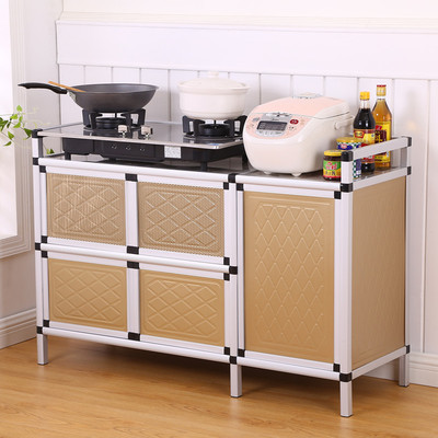 Cupboard Household Kitchen Cabinet Simple Storage Cabinet Storage Cabinet Living Room Storage Cabinet Stove Cabinet Sideboard Assembly