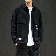 黑墙 2019秋季新款日系大码工装刺绣衬衫 A038-CS102-P50 控价69