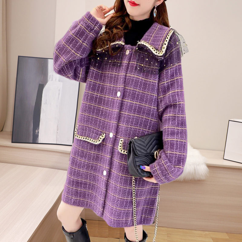 New style coat mink sweater in early autumn