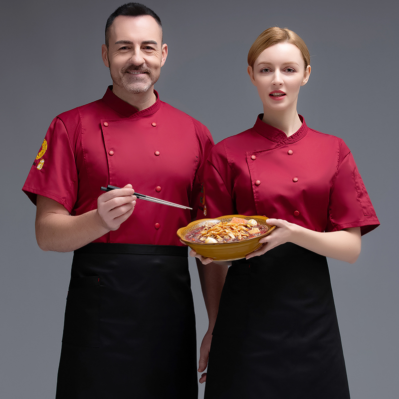 Summer Bakers work clothes bakery uniform Bakers work clothes dessert pastry Canteen Cooks clothes