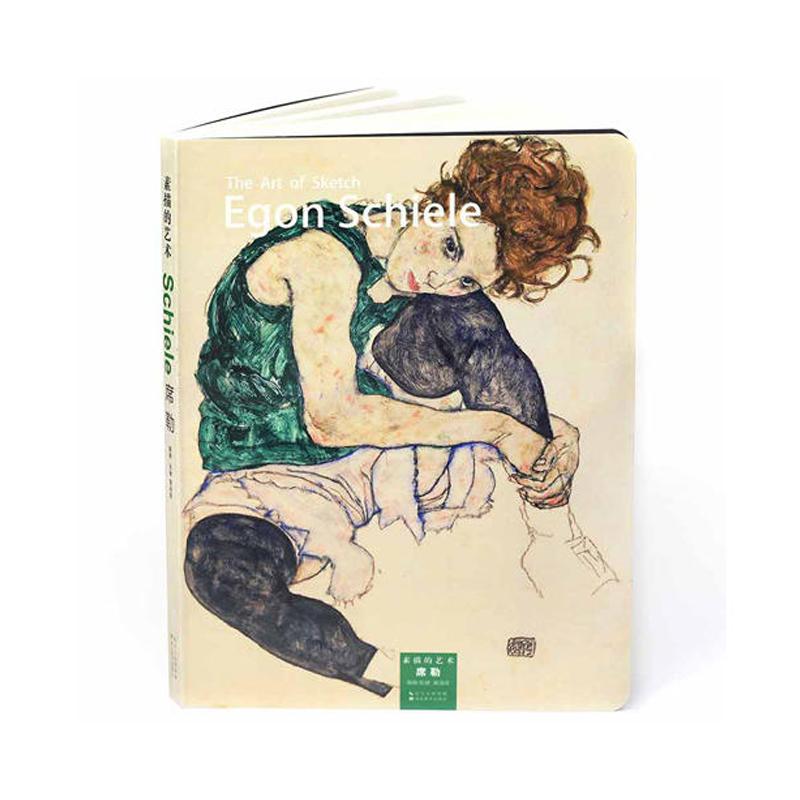 素描的艺术 席勒 大师素描速写 风景美术铅笔画临摹静物风景石膏头像学画画绘画美术艺术手绘画册素描入门自学零基础教程教材书籍图片