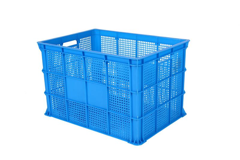 周转筐塑料框物流箱加厚长方形水果筐蔬菜筐服装筐工业镂空筐大号