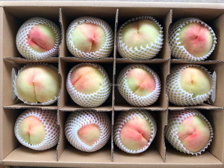 南汇大团新鲜现摘水蜜桃半斤桃水嫩多汁鲜甜农家自种12个装发顺丰