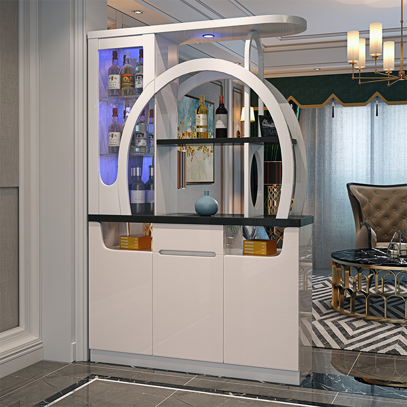 现代简约时尚屏风装饰柜客厅鞋柜