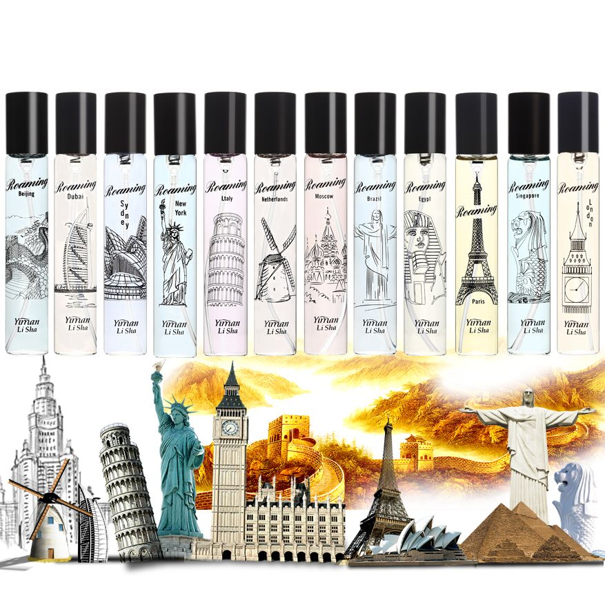 Yi Mo Lisa roaming lady perfume international heart tour lasting fragrance travel car carries with the smell 20ML