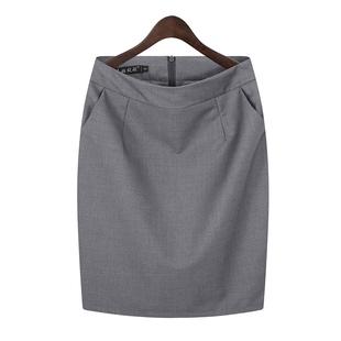 职业包裙包臀半身裙女夏工装短裙子工作裙西装裙黑色正装裙一步裙