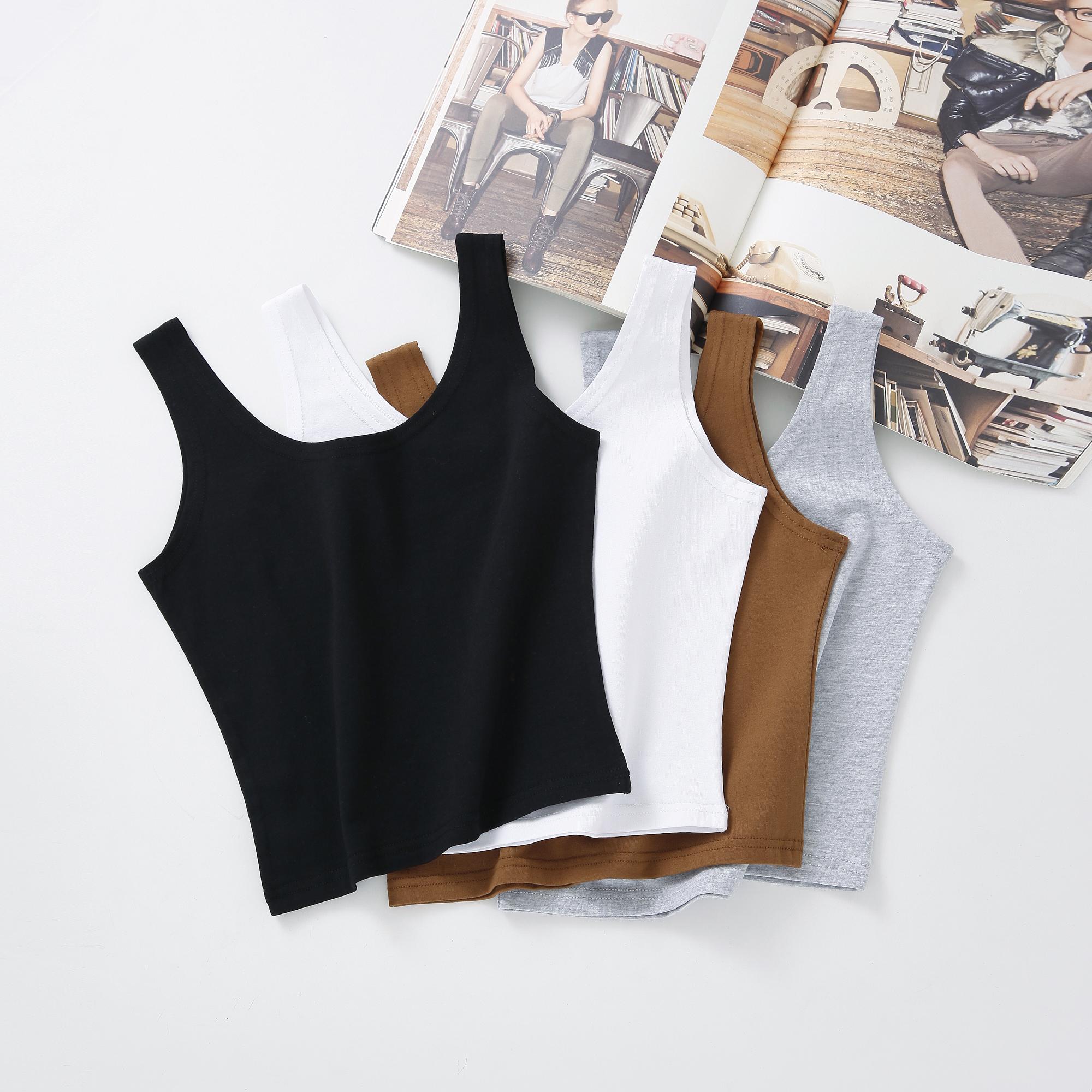 Корейский aa краткое модель талия роса пупок немного назад сердце куртка женщина твердый плотно верхняя одежда безрукавный хлопок поддержка жилет