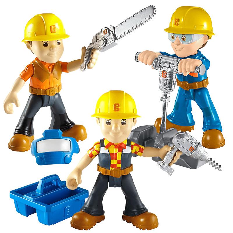 巴布工程师人偶公仔玩具 儿童过家家卡通动画片角色装备套装DHB05