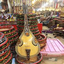 新疆民族乐器胡西塔尔演奏乐器家居装饰摆件80厘米标准大小