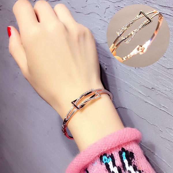 Европейские и американские вентилятора геометрическая графика форма корея браслет браслет корейский моды дикий студент браслет женщина корея аксессуары