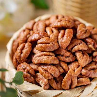 Lin'an pecan kernels small walnut kernels 500g with canned original pecan meat nuts dried fruit snacks