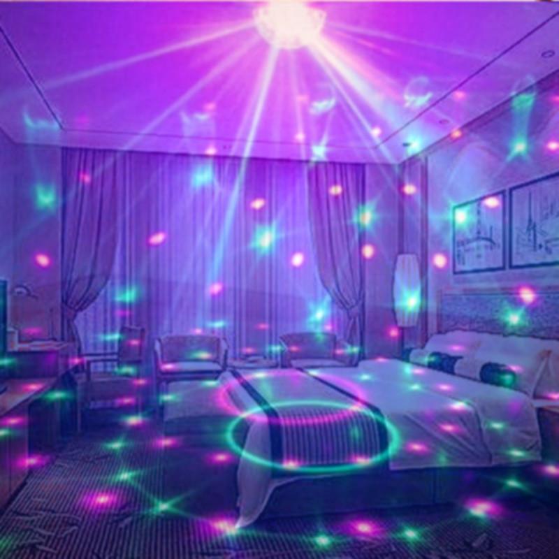 浪漫星空投影灯海洋灯创意少女房间卧室梦幻旋转满天星夜空星光灯