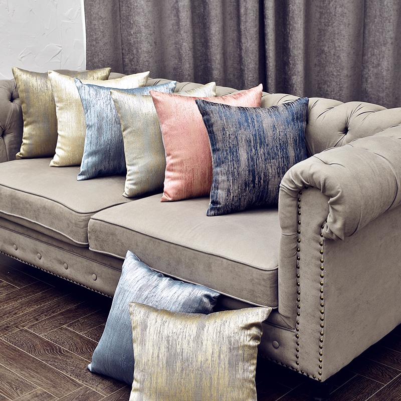 12月12日最新优惠ins肌理纹北欧轻奢沙发大床头抱枕