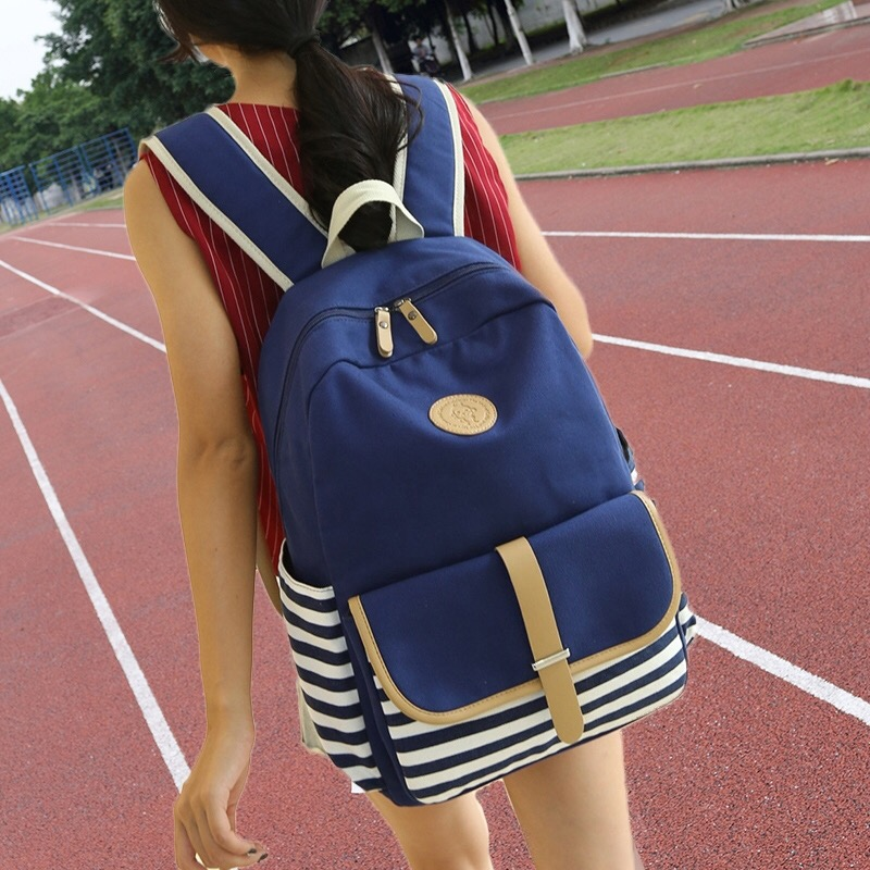 Schoolbag for junior high school students Korean version high school students large capacity campus Backpack