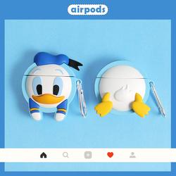 搞怪鸭子屁屁Airpods1/2代通用卡通苹果无线蓝牙耳机保护pro3壳套
